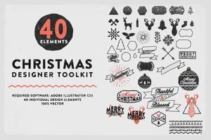 Christmas Hand Drawn Elements