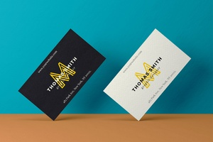 Realistic Business Card Mock-Up #02
