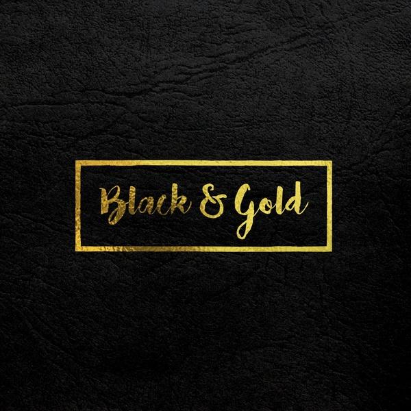 Gold logo mock-up (Free Download)