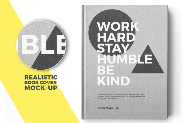 Realistic Book Mock-Up Template