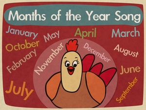 Months of the Year Song video (mp4)