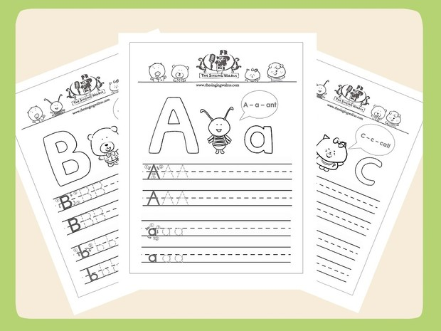 The Singing Walrus Alphabet Worksheets