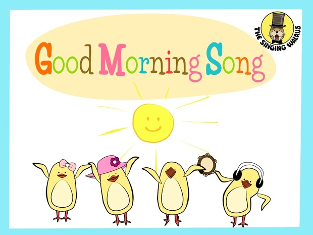 Good Morning Song video (mp4)