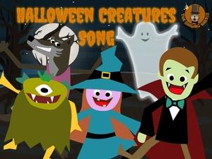 Halloween Creatures Song video (mp4)