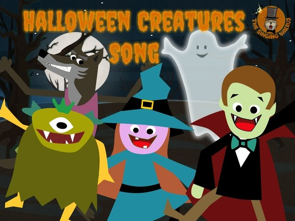 Halloween Creatures Song video (mp4)