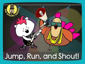Jump, Run, and Shout! song video (mp4)