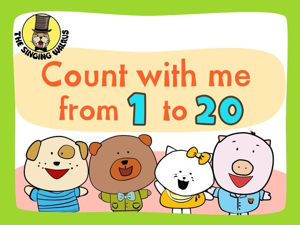 Numbers 1-20 Song video (mp4)