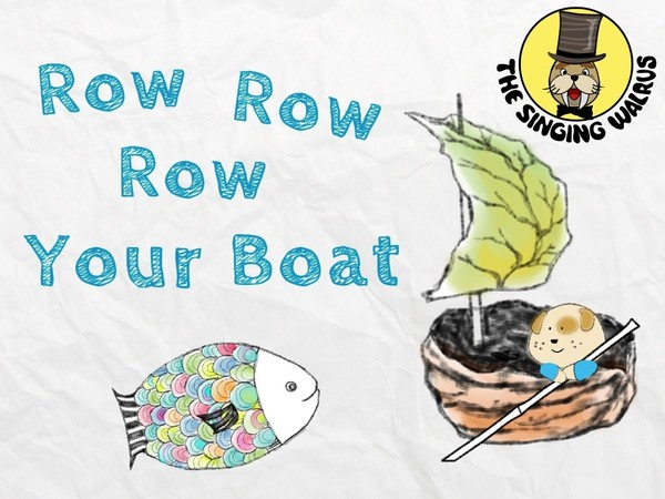 Row Row Row Your Boat video (mp4)