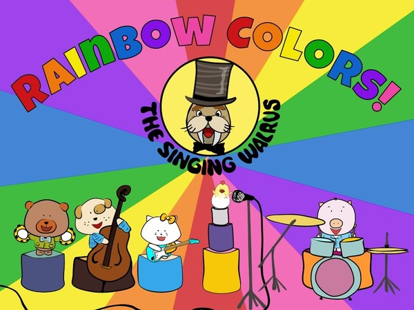 Rainbow Colors video (mp4)