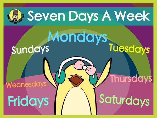 Seven Days a Week video