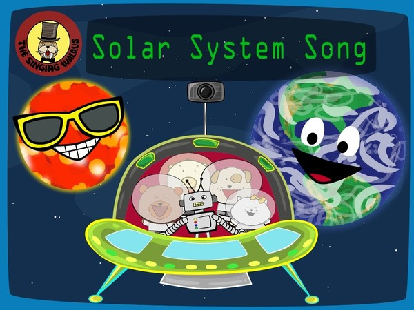 Solar System Song video (mp4)