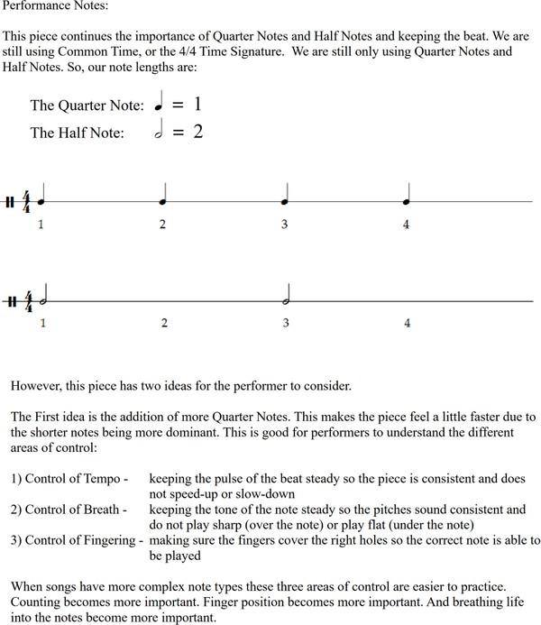 Etude No. 2 - A Simple Flow