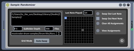 16-Voice Randomizing Sampler with