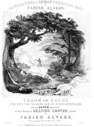 Elias Parish Alvars: Traum am Bache Op. 71 (Illustrations of German Poetry  No. 1)