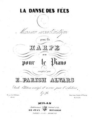 Elias Parish Alvars: La Danse des Fées Op. 76