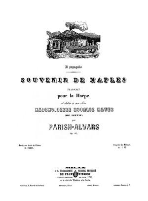 Parish Alvars: Ricordi di Napoli No. 3 Il papagallo, op. 85
