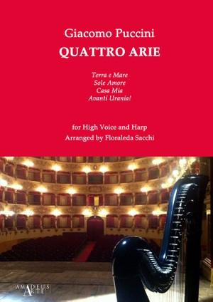 Giacomo Puccini (1858-1924): Quattro Arie