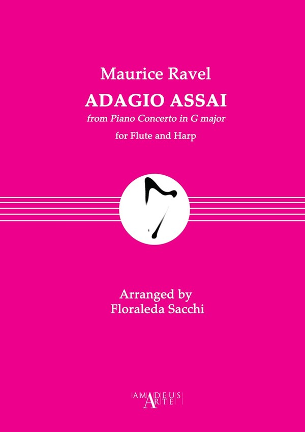 Maurice Ravel: Adagio assai, from Piano Concerto in G major, For Flute and Harp