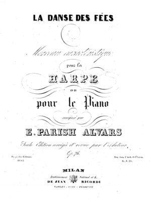 Elias Parish Alvars: Rêveries Op. 82