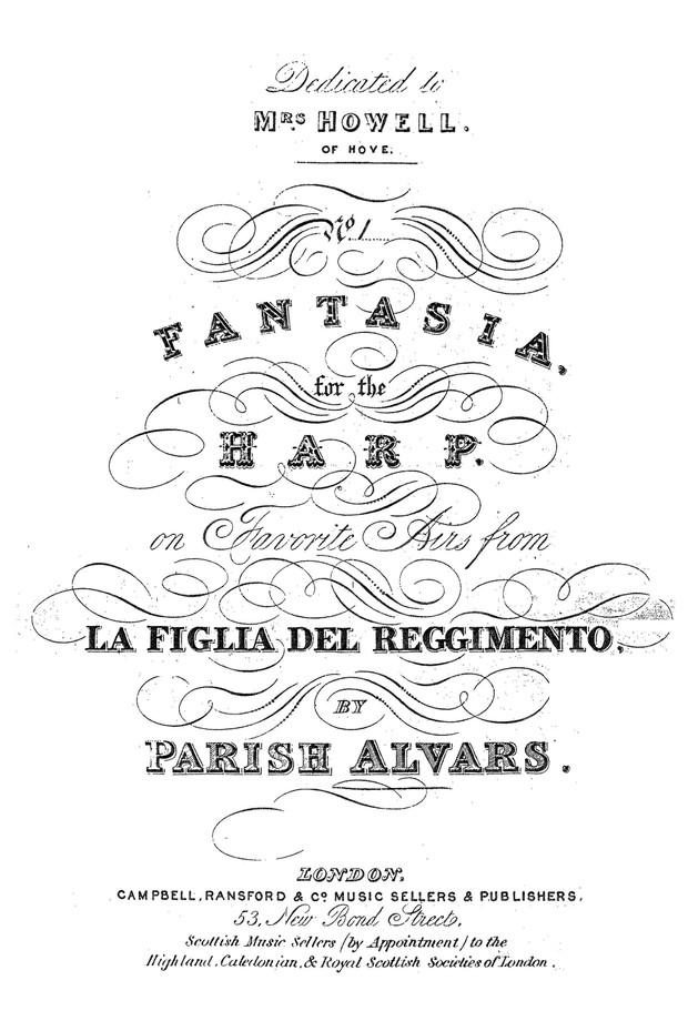 Parish Alavars: Fantasia on Donizetti's La Fille du Régiment