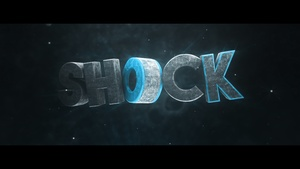 3D TEXT INTRO (1080p30 FPS)