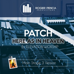 PATCH Here As In Heaven  | Elevation Worship  (MAIN STAGE 3 VERSION)
