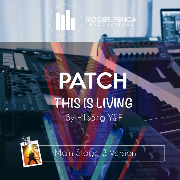 PATCH This Is Living | Hillsong Y&F (MAIN STAGE 3 VERSION)