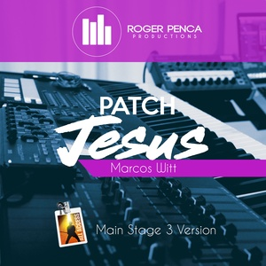 PATCH JESUS, JESUS SALVA | Marcos Witt ( Main Stage 3 )