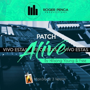 PATCH ALIVE / VIVO ESTAS | Hillsong Young & Free ( Mainstage3 )