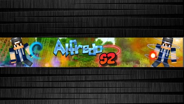 [OLD, DON'T BUY] Youtube Banner (Minecraft GFX)