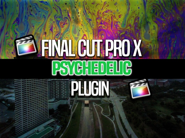 Final Cut Pro X Psychedelic effect (Free) - CatchTheShooter
