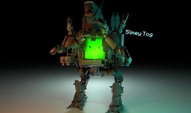 Mecha Slime Rig v1 [Freebie] [FK Rig]