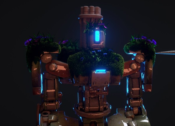 OVERWATCH RIG - Bastion (TagAnimationz)
