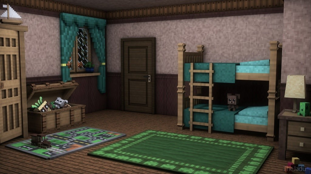 Minecraft Kids Room Pack By Thejadu Taganimationz