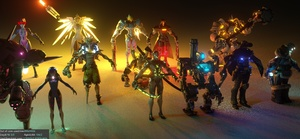 Overwatch Model Pack  v3 by TAG