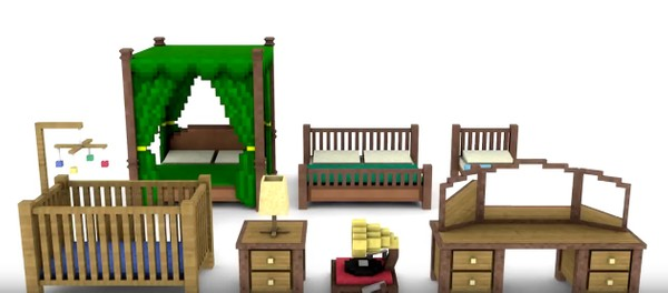 Minecraft Bedroom Pack (By TheJadu)