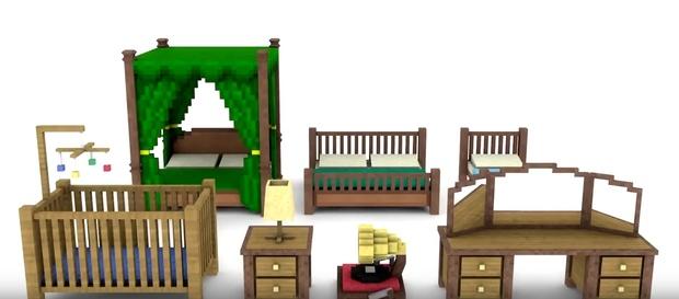 Minecraft Bedroom Pack (By TheJadu)