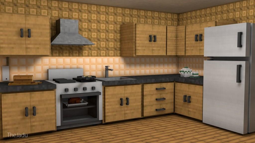 Minecraft Kitchen Pack By Thejadu Taganimationz