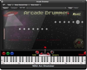 Nova Drum Unit: Arcade Drummer - VST, AU, WAV