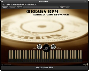 Nova Drum Unit: Breaks RPM - AU VST Plugin