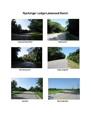 Rye Rd/Linger Lodge/Lakewood Ranch Scenic Motorcycle Ride