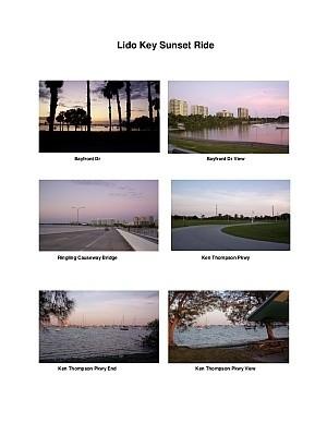 Lido key Sunset Scenic Motorcycle Ride (Sarasota)