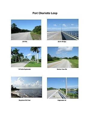 Port Charlotte Loop Scenic Motorcycle Ride