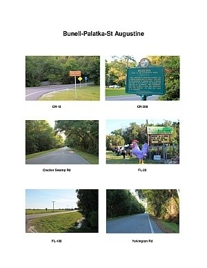 Bunell-Palatka-St Augustine Scenic Motorcycle Ride