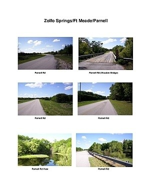 Zolfo Springs/Ft Meade/Parnell Rd Scenic Motorcycle Ride