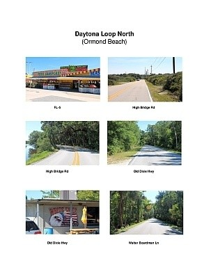 Daytona Loop North Scenic Motorcycle Ride