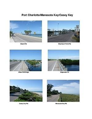 Port Charlotte/Manasota Key/Casey Key Scenic Motorcycle Ride