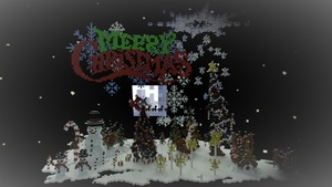 Christmas decoration pack (for Minecraft)
