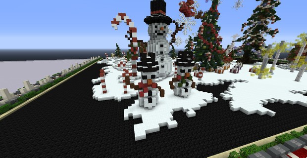 Christmas Minecraft Decorations.Christmas Decoration Pack For Minecraft