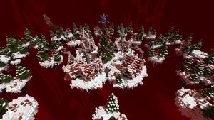 Christmas Skywars map